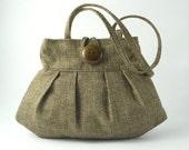 green purse, sexy bag, small olive tote, handbag purse, shoulder bag, retro bag