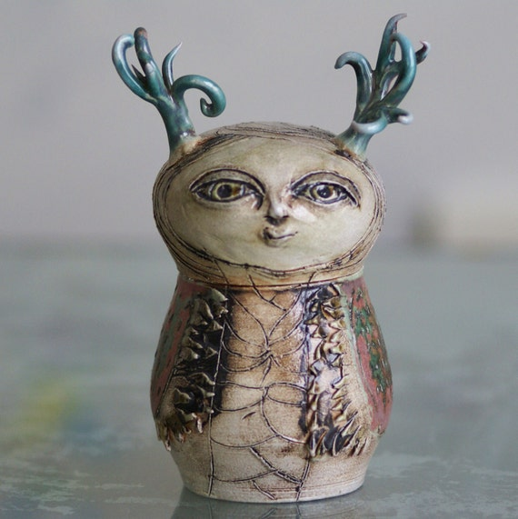 Canopic jar series 4 the alpha elk