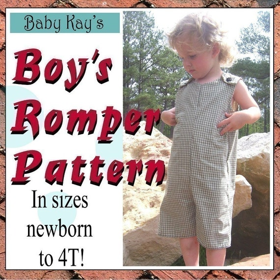 diy make your own Longalls or Shortalls ROMPER ebook and pattern, includes tutorial for inserting snaps