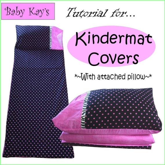Diy Tutorial For Kindermat Covers With Attached Pillow Pdf