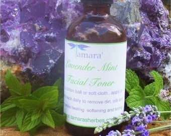 Lavender Mint Facial Toner Sample