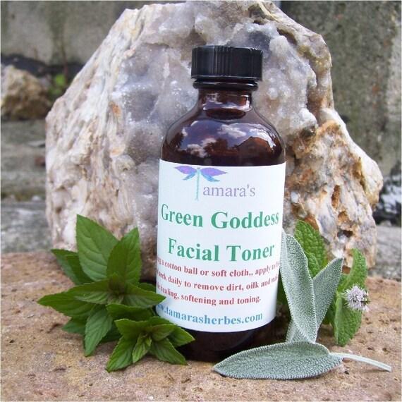 Green Goddess Facial Toner