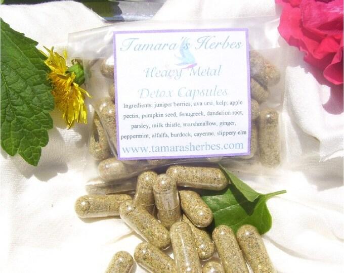 Heavy Metal Detox Herbal Capsules or Extract
