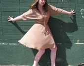 MOVING SALE - Bohemian Queen Vintage Gold Dress - Size Medium / Large
