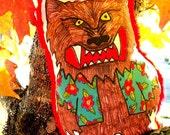 Magnum Werewolf P.I. Plushie