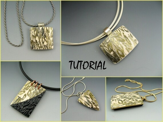 Tutorial polymer clay pendant construction and decorative tutorial polymer clay pendant construction and decorative surface technique mozeypictures Images