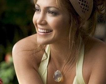 Monster in Law Jennifer Lopez pineapple quartz necklace