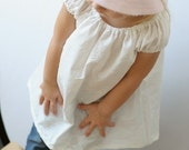 Sweet Little Dress - White Embroidered - 12M, 4T OR 5T