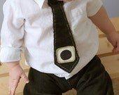 Tie for your Little Guy - Hunter Green -Reserved for massimo05