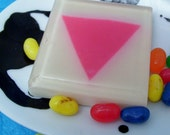 Pink Triangle Soap