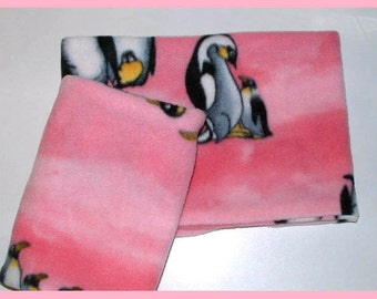 Pink Remnant Fleece Neck Warmer, Buff, Gaiter, Tube Scarf, Great Price, Perfect Gift