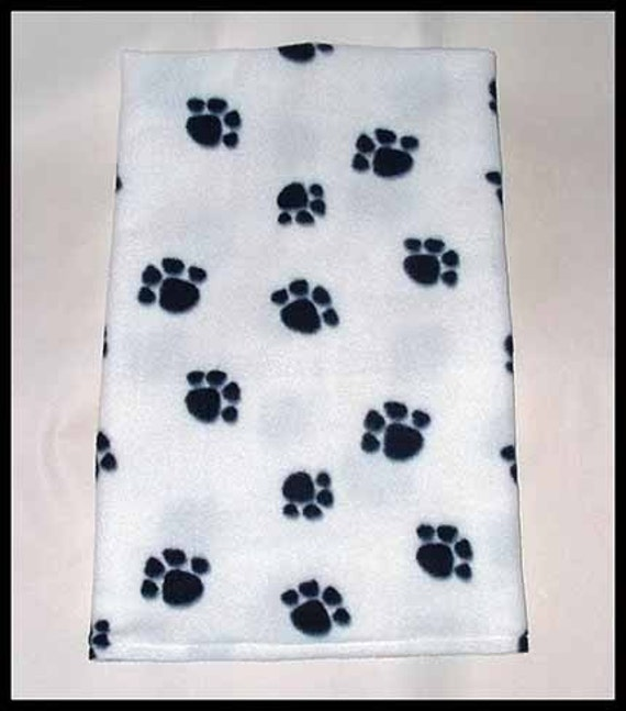 17 x 22 Inch, Black Paws on White Neck Warmer, Extra Long Gaiter, Buff, Unisex, Pet Owner, Sport