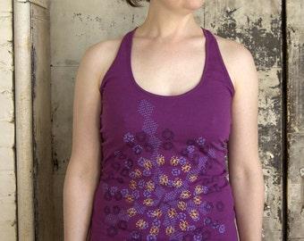 SALE - Women's Vortex Tee - Violet