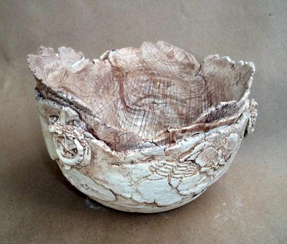 Hand Built Ceramic Bowl