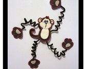 Fridge Friends Magnets-  Gerald Monkey