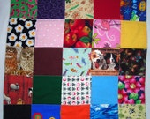 Quilted I Spy Security Blanket for Babies or Toddlers - SALE