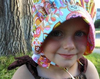 Bonnet Sun Hat - Sun Bonnet for Baby Toddler Child - Sunshine Daydreams