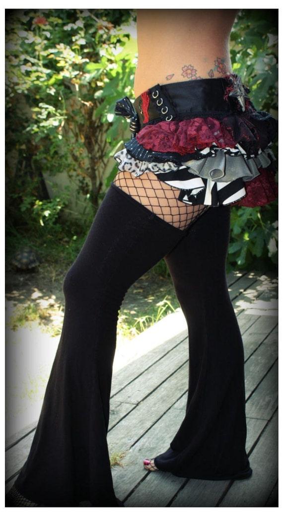 Basic Black Garter Playa Pants