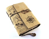 Treasure Map - Leather Journal, Diary, Book