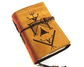 Leather journal, Notebook, Lakota