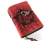 Pentacle, Journal, Leather, Handmade, Suede, Diary