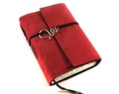 Journal, Leather, Suede, Simply Red