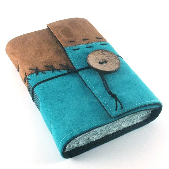 Stitches Leather Journal Notebook Diary