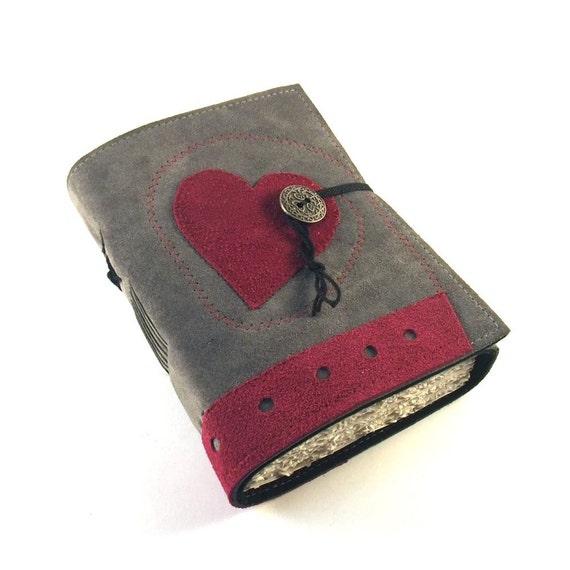 Love -  Leather Journal, Notebook, Diary
