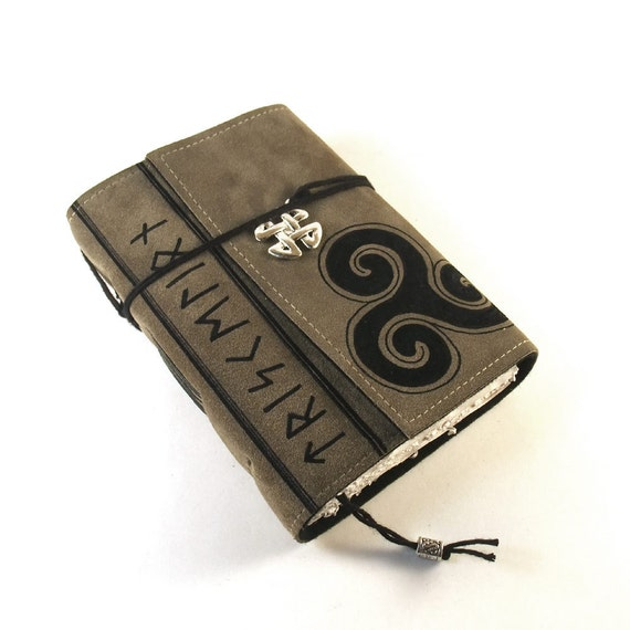Triskelion  - Leather Journal, Diary, Book
