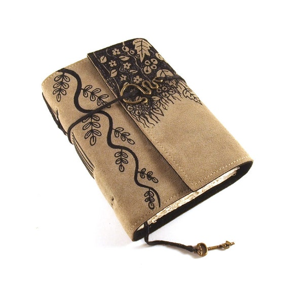 Hanging Gardens of Babylon - Leather Journal, Diary, Book