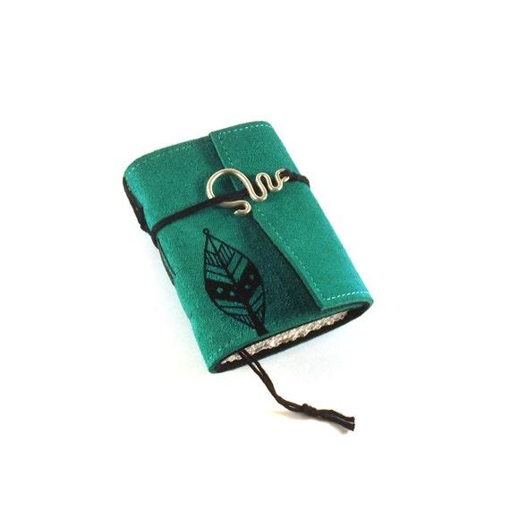 Leaf, Mini  Leather Journal