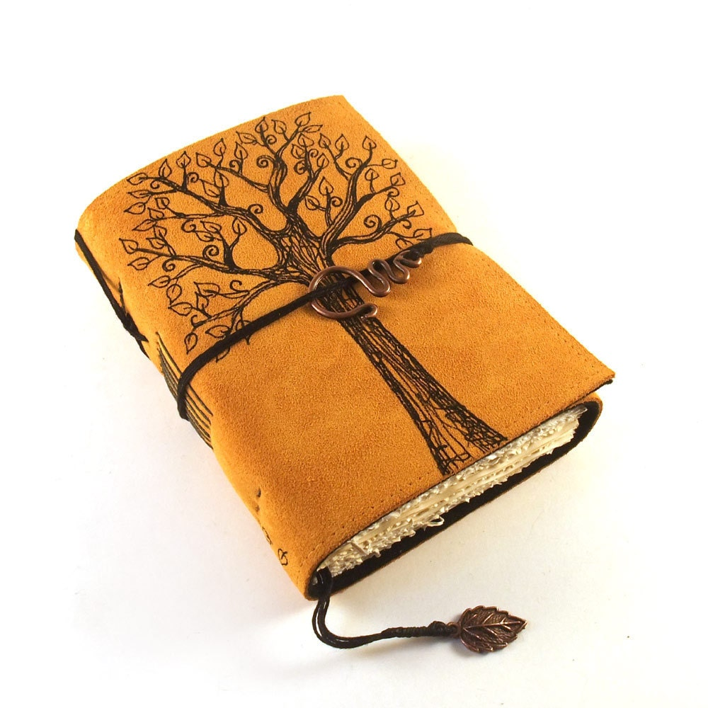 Summer Tree Leather Journal Diary Book