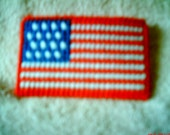 Attractive American Flag Business/Gift Card Holder