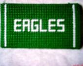NFL Football Eagles Eyeglass Case