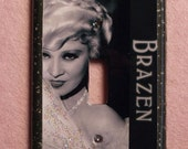 Mae West Light Switch Cover, Single