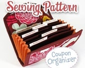 PDF SEWING PATTERN - Coupon Organizer Expense Organizer Coupon Wallet Instant Download