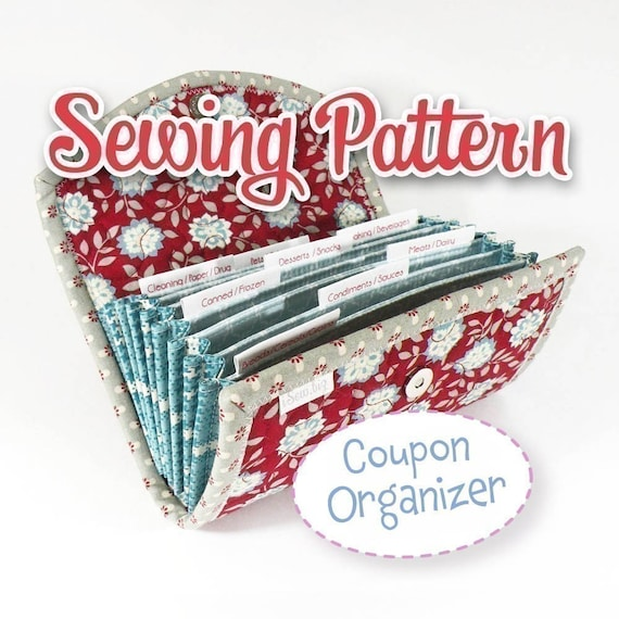 PDF SEWING PATTERN - Coupon / Expense Organizer