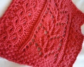 Summer in Asheville - KNITTING PATTERN - PDF File - not a finished item