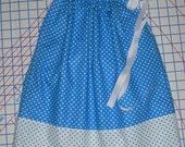 Royal Dots Pillowcase Dress