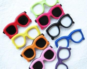 Sunglasses shank buttons - 24 pcs