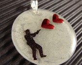 Stop in the Name of Love Pendant