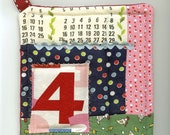 Quilted Potholder- The Number 4