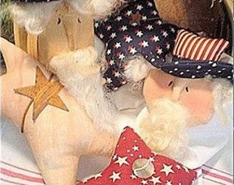 PATTERN Uncle Sam ornaments bowl fillers EL