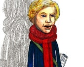 Cheer Up Charlie ... Ode to Charlie and the Chocolate Factory ... limited edition print