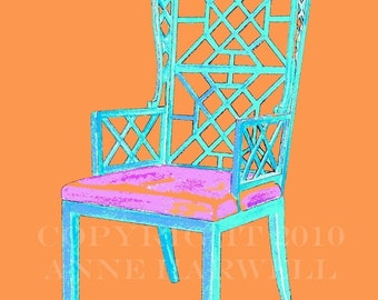 CHINOISERIE CHAIR on Color Steroids