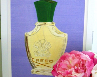 LUXE FUME Creed Fleurissimo Print