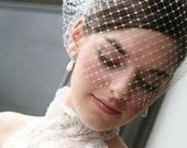 How to Make A Birdcage Veil  Video Tutorial - Free Wearing Tips Guide Included.