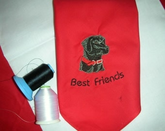 Black Lab Best Friend Vogue Pet Bandana