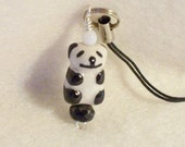 Panda Bear Cell Phone Charm