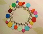PILL Charm Bracelet - Handmade from My Bead Garden